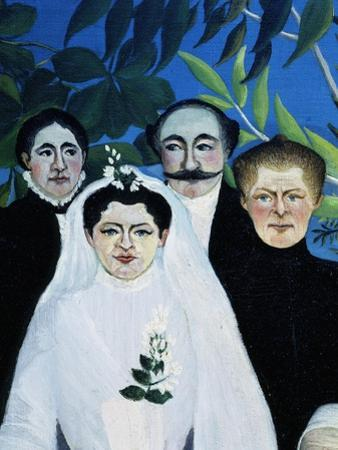 La Noce (The Wedding) (Detail) by Henri Rousseau