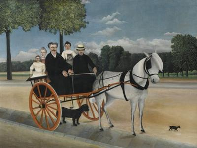 Old Junier's Cart by Henri Rousseau