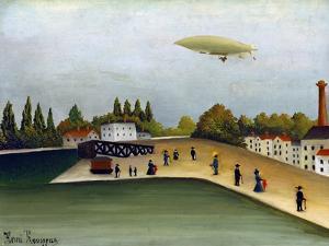 Quai D'Ivry by Henri Rousseau