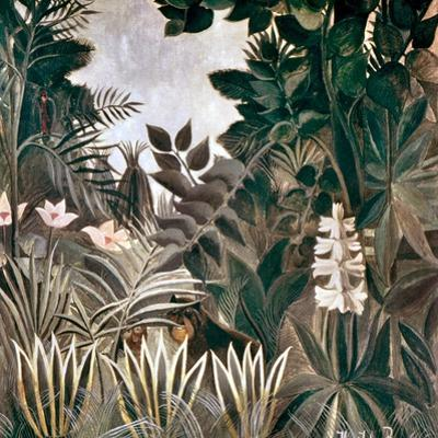 Rousseau: Jungle, 1909 by Henri Rousseau