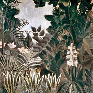 Rousseau: Jungle, 1909 by Henri Rousseau