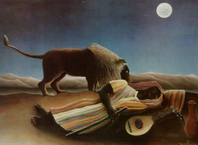 Sleeping Gypsy, 1897 by Henri Rousseau
