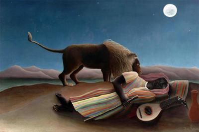Sleeping Gypsy by Henri Rousseau