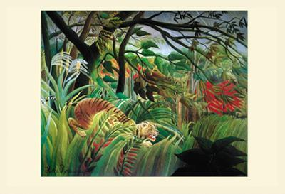 Surprised! Storm in the Forest by Henri Rousseau