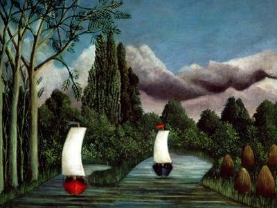 The Banks of the Oise, 1905 by Henri Rousseau
