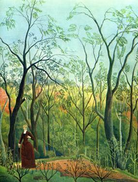 The Border of a Forest, c.1886 by Henri Rousseau