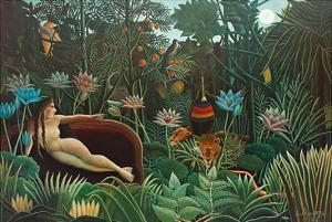The Dream, 1910 by Henri Rousseau