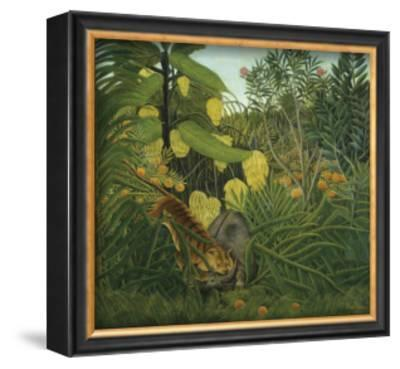 The Fight Between a Tiger and Buffalo, c.1908 by Henri Rousseau