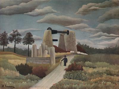 'The Quarry', 1923 by Henri Rousseau