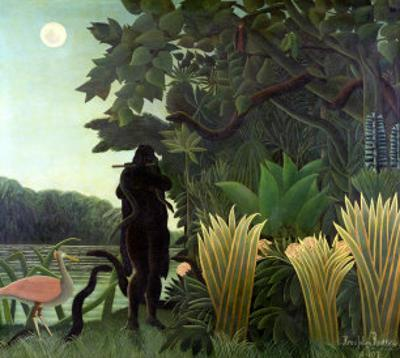 The Snake Charmer, 1907 (La Charmeuse Des Serpents) by Henri Rousseau