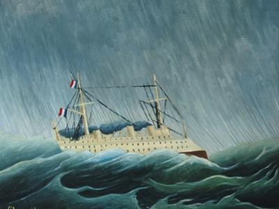 The Storm-Tossed Vessel, 1890-93 by Henri Rousseau