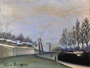 View of Vanves, 1909 by Henri Rousseau