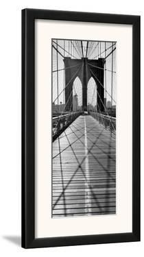 Across Brooklyn Bridge by Henri Silberman