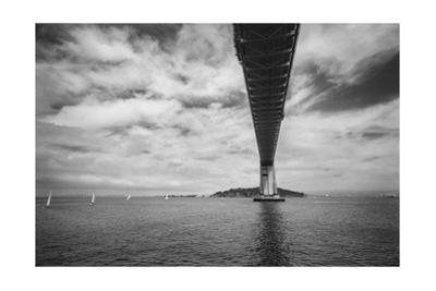 Bay Bridge Sailboats by Henri Silberman