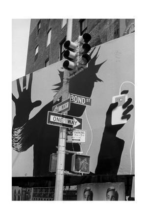 Bond Street Billboard Manhattan