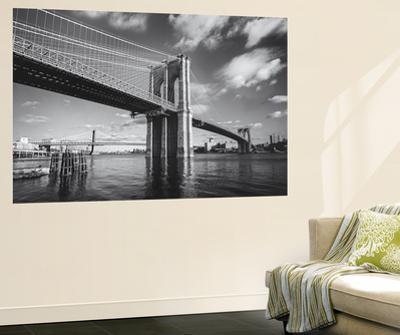 Brooklyn Bridge Afternoon Clouds