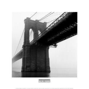 Brooklyn Bridge Fog by Henri Silberman