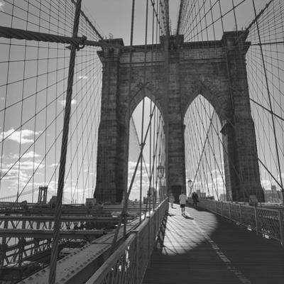 Brooklyn Bridge, New York City by Henri Silberman