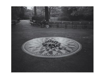 Central Park Imagine Memorial Morning by Henri Silberman