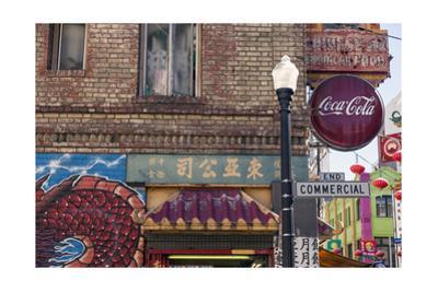 Chinatown, San Francisco Signs 2 by Henri Silberman