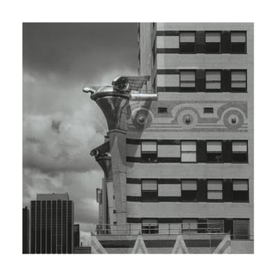 Chrysler Building Detail by Henri Silberman