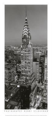 Chrysler Building by Henri Silberman