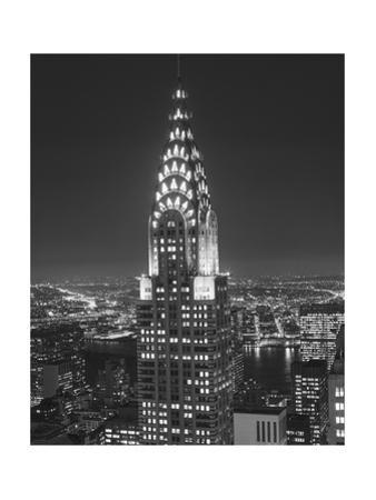 Chrysler Bulding, New York City 2 by Henri Silberman