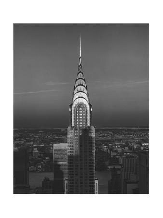 Chrysler Bulding, New York City 3 by Henri Silberman
