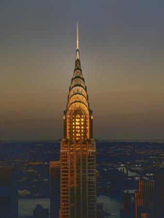 Chrysler Bulding, New York City 5 by Henri Silberman