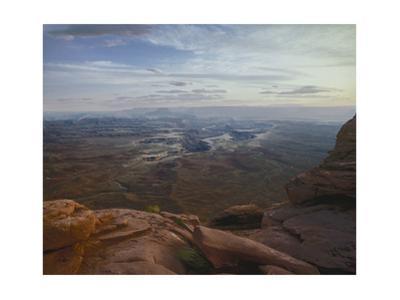 Dead Horse Point, White Rim Canyon, Utah by Henri Silberman