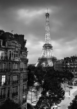 Eiffel Tower Evening by Henri Silberman