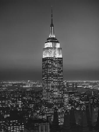Empire State Building, New York City 3 by Henri Silberman