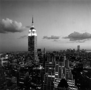 Empire State Building by Henri Silberman
