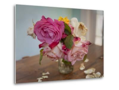 Fading Garden Roses by Henri Silberman