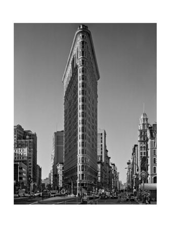 Flat Iron Building Morning - New York City Landmarks by Henri Silberman