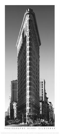 Flatiron Building by Henri Silberman