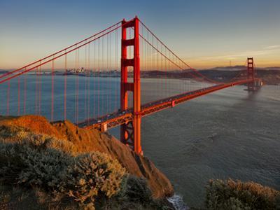 Golden Gate Bridge Afternoon by Henri Silberman