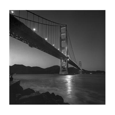Golden Gate Bridge Evening Marin Headlands