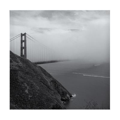 Golden Gate Bridge Marin Headlands Fog