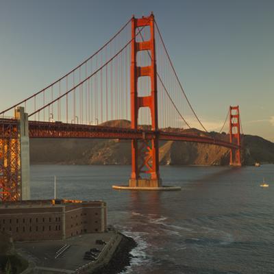 Golden Gate Bridge North View 3 by Henri Silberman