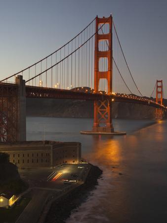 Golden Gate Bridge North View 5 by Henri Silberman