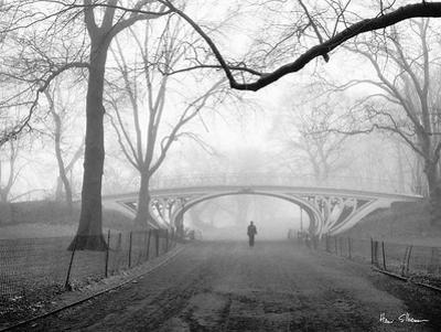 Gothic Bridge, Central Park, NYC by Henri Silberman