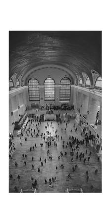 Grand Central Interior from Above by Henri Silberman