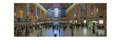Grand Central Station Interior 2 (Panorama) by Henri Silberman