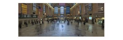 Grand Central Station Interior (Panorama) by Henri Silberman