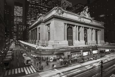 Grand Central Station, NY at Night 2 - New York City Landmark Midtown Manhattan by Henri Silberman