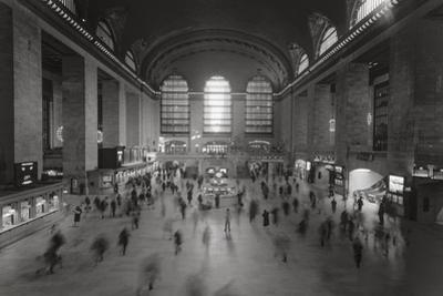 Grand Central Station, NY Interior - Olld Before Renovation by Henri Silberman