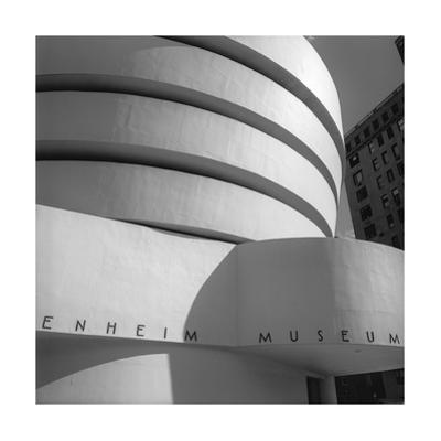 Guggenheim Museum Close-Up by Henri Silberman