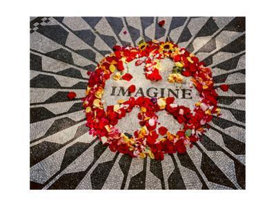 """Imagine"" Memorial Central Park by Henri Silberman"