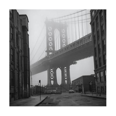 Manhattan Bridge Brooklyn View 2 by Henri Silberman